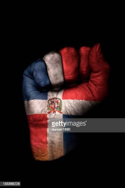 Dominican Republic Flag Fist