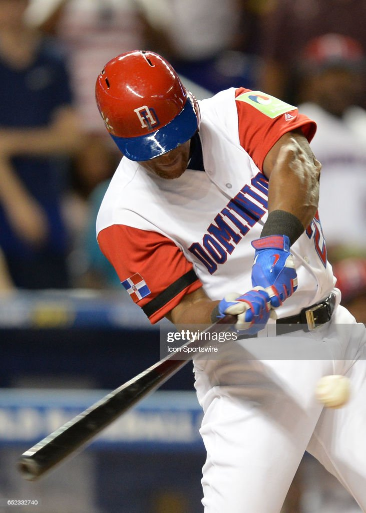 BASEBALL: MAR 11 World Baseball Classic 1st Round Pool C - United States v Dominican Rep. : News Photo