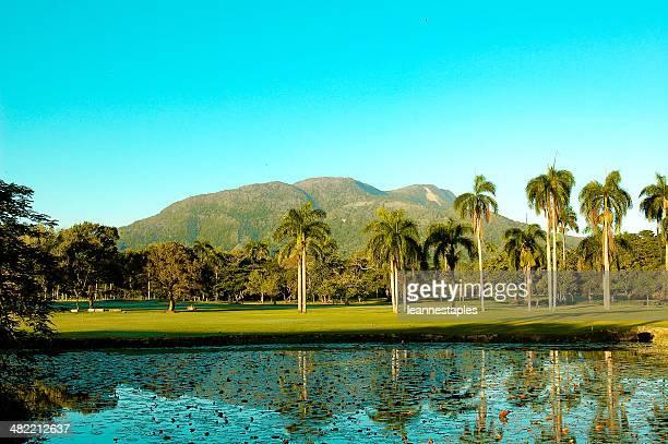 Dominikanische Republik, Puerto Plata, Blick auf den Mont Isabela de Torres