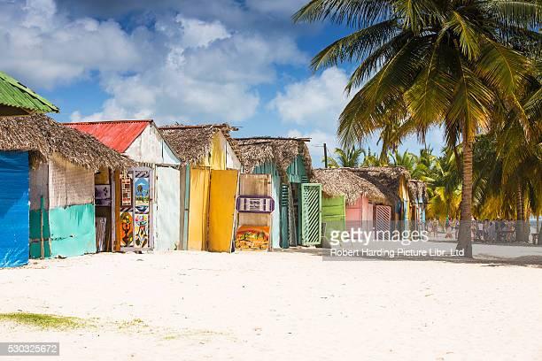 Dominican Republic, Punta Cana, Parque Nacional del Este, Saona Island, Mano Juan, a picturesque fishing village