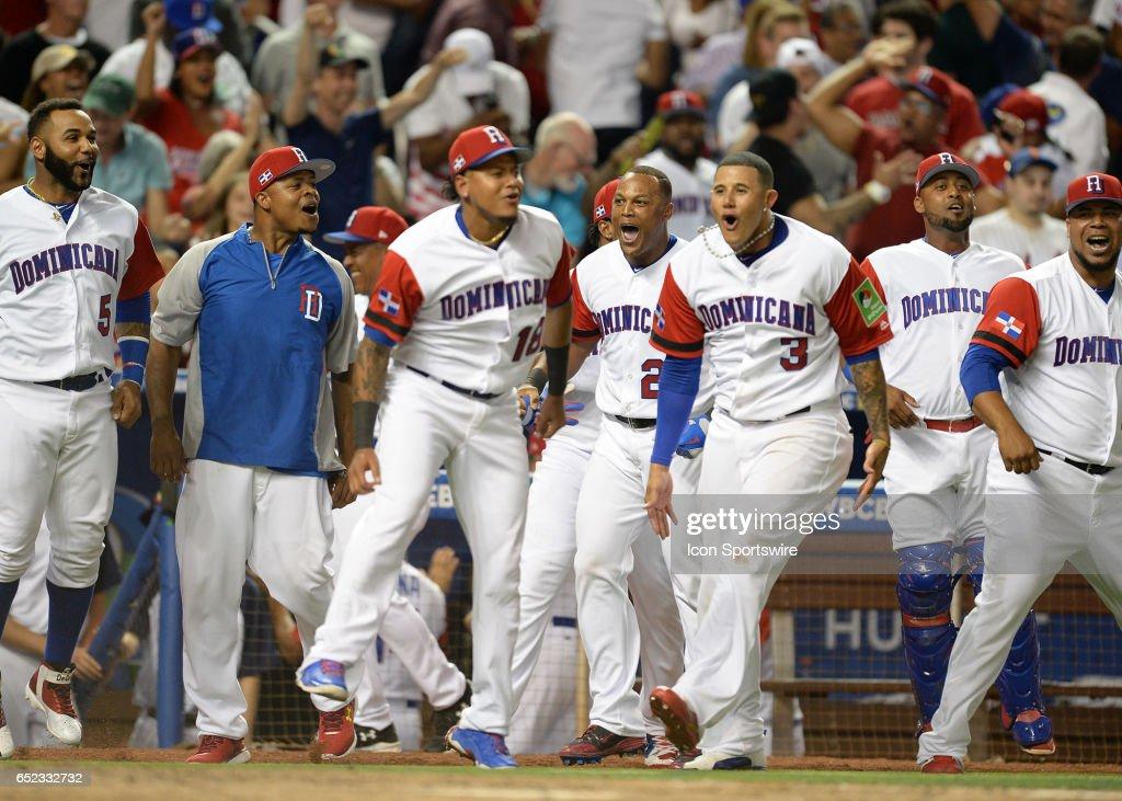 BASEBALL: MAR 11 World Baseball Classic 1st Round Pool C - United States v Dominican Rep. : News Photo