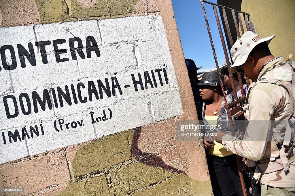 HAITI-DOMINICAN REP-MIGRATION-RIGHTS : News Photo