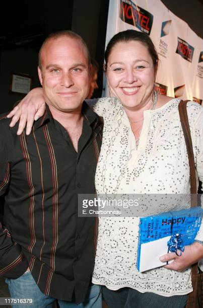 Dominick Cerniglio and Camryn Manheim during Sony Pictures Entertainment Celebrates Director Eli Roth's Birthday and the DVD Launch of His Film...