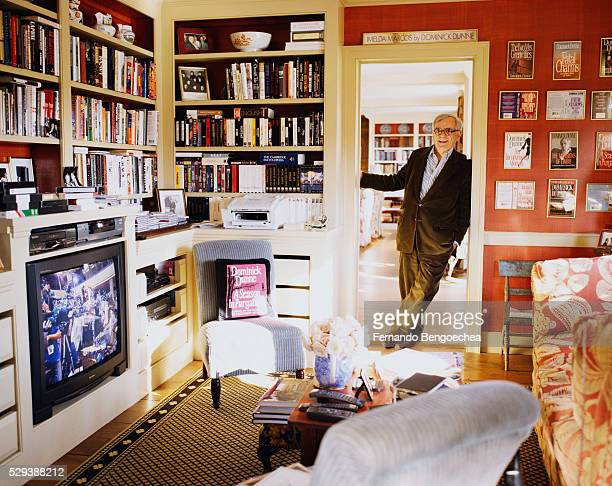 Dominick Dunne at Home