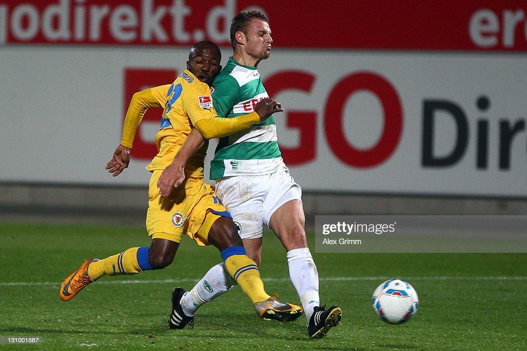 Greuther Fuerth v Eintracht Braunschweig - 2. Bundesliga
