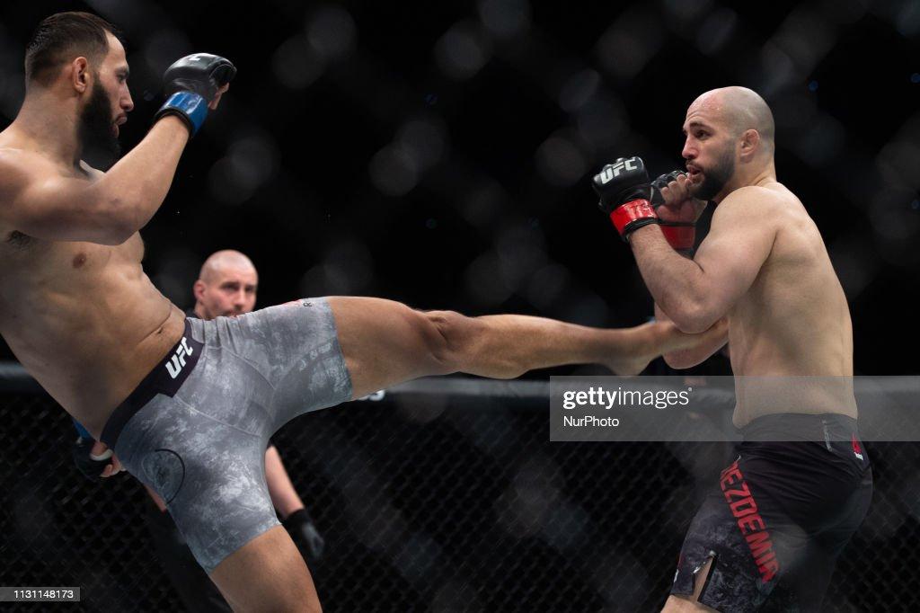 UFC Fight Night 147 Saturday 16th March 2019 : News Photo