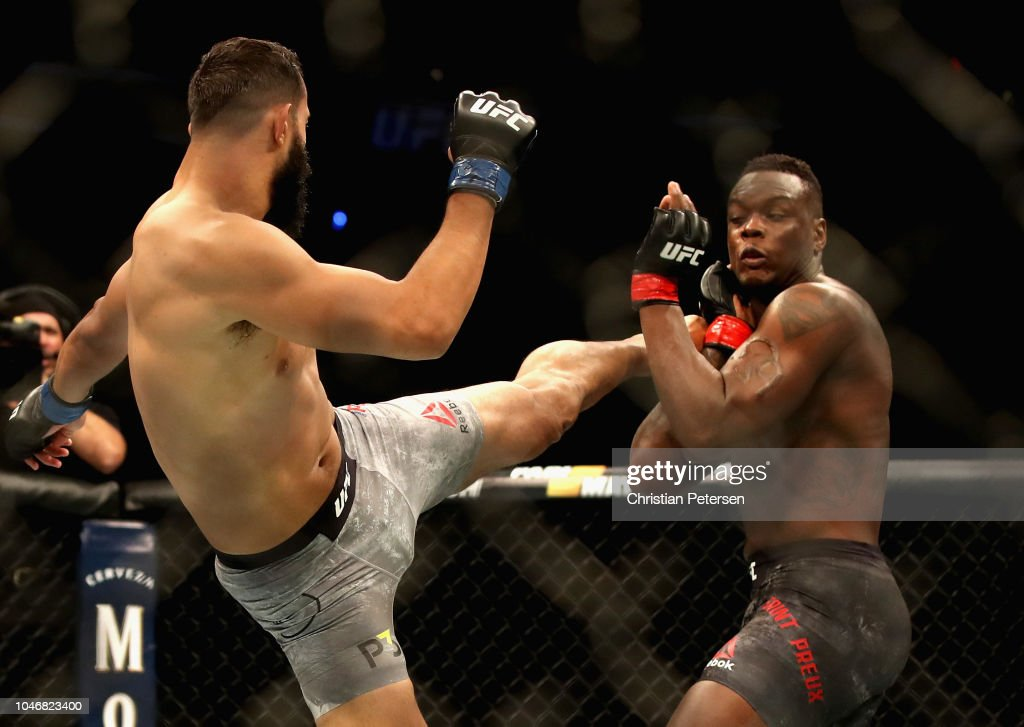 UFC 229: Saint Preux v Reyes : News Photo