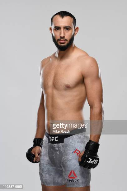 Dominick Reyes poses for a portrait during a UFC photo session on February 5 2020 in Houston Texas
