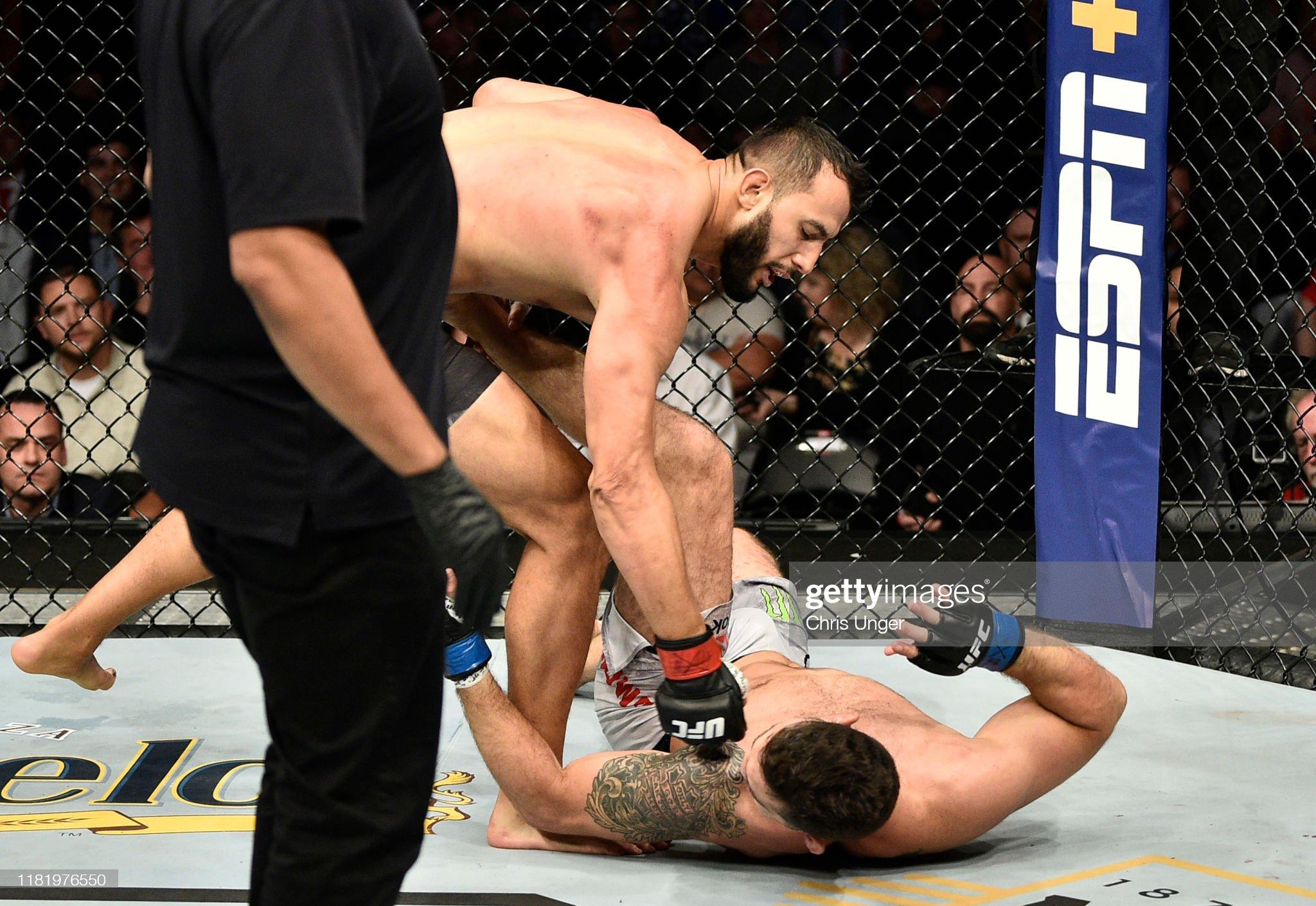UFC Fight Night: Reyes v Weidman : News Photo