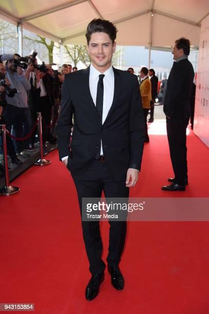 Dominik Bruntner attends the 'Goldene Sonne 2018' Award by SonnenklarTV on April 7 2018 in Kalkar Germany