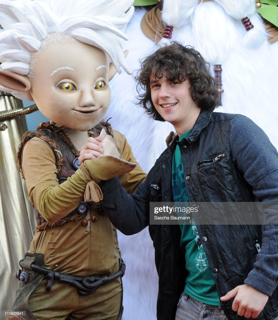 Dominik Buechele attends the Germany Premiere of Arthur 3: The War of the Two Worlds on APRIL 8, 2011 in Rust, Germany.