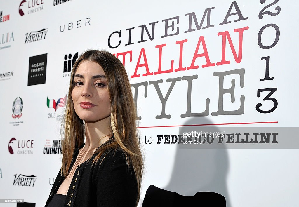 Dominik Garcia- Lorido attends Cinema Italian Style 2013 'The Great Beauty' opening night premiere at the Egyptian Theatre on November 14, 2013 in Hollywood, California.