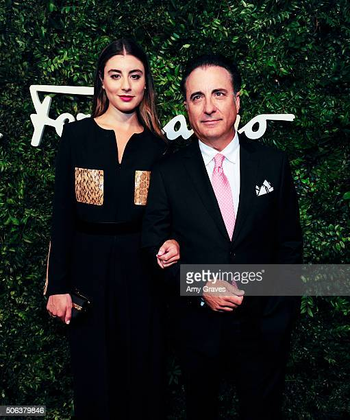 Dominik GarciaLorido and Andy Garcia attend the Salvatore Ferragamo 100th Year Celebration in Hollywood and Rodeo Drive Flagship Store Opening on...