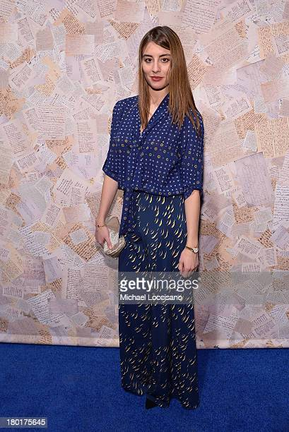 Dominik GarciaLorido attends the alice olivia by Stacey Bendet presentation during MercedesBenz Fashion Week Spring 2014 on September 9 2013 in New...