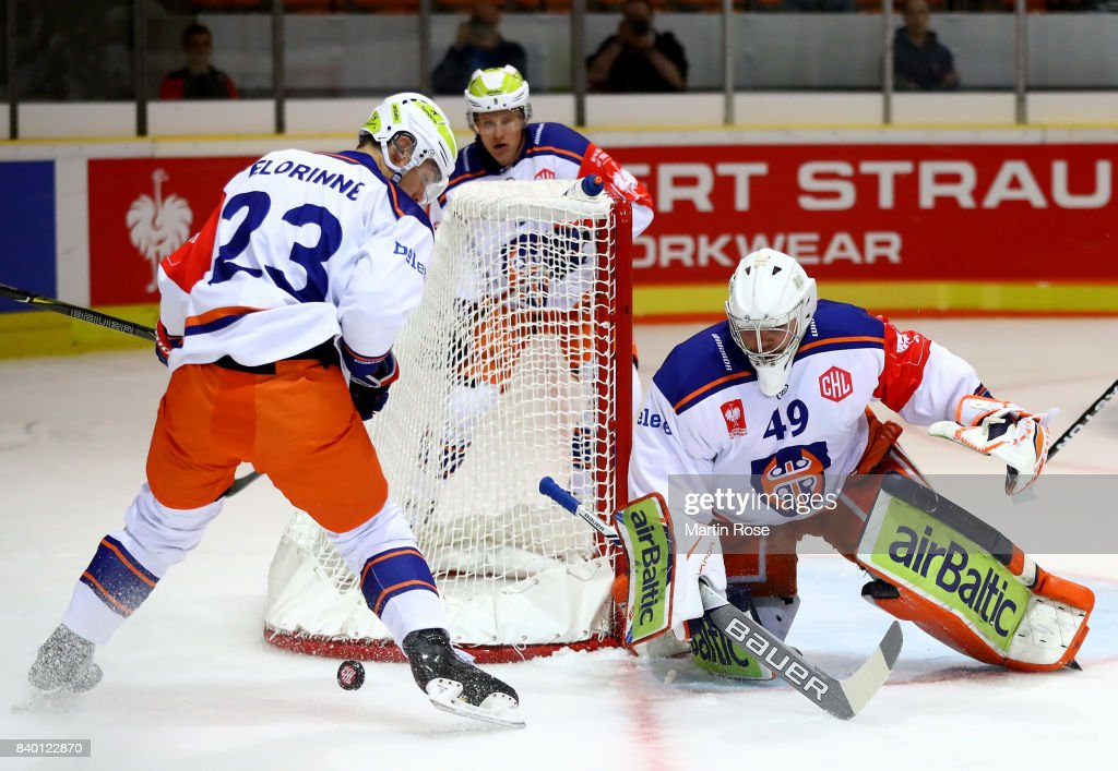 Grizzlys Wolfsburg v Tappara Tampere - Champions Hockey League : News Photo