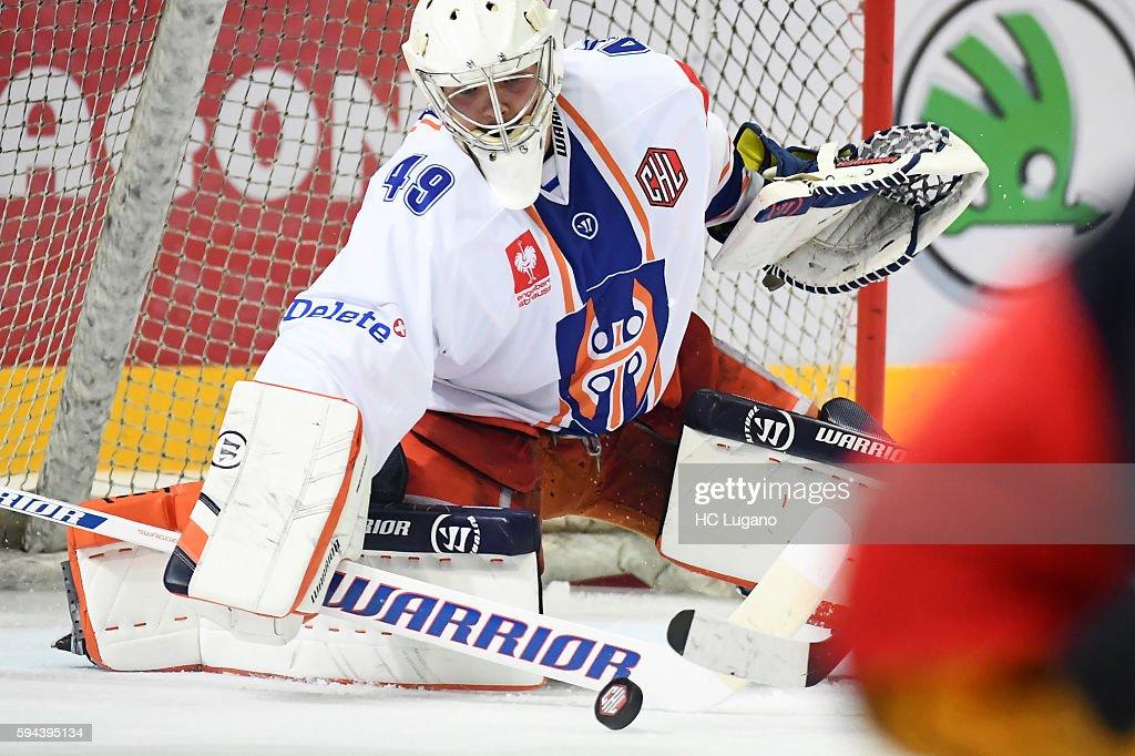 HC Lugano v Tappara Tampere - Champions Hockey League : News Photo