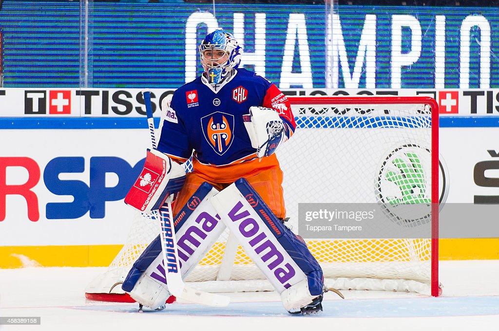 Tappara Tampere v Frolunda Gothenburg - Champions Hockey League Round of 16 : News Photo
