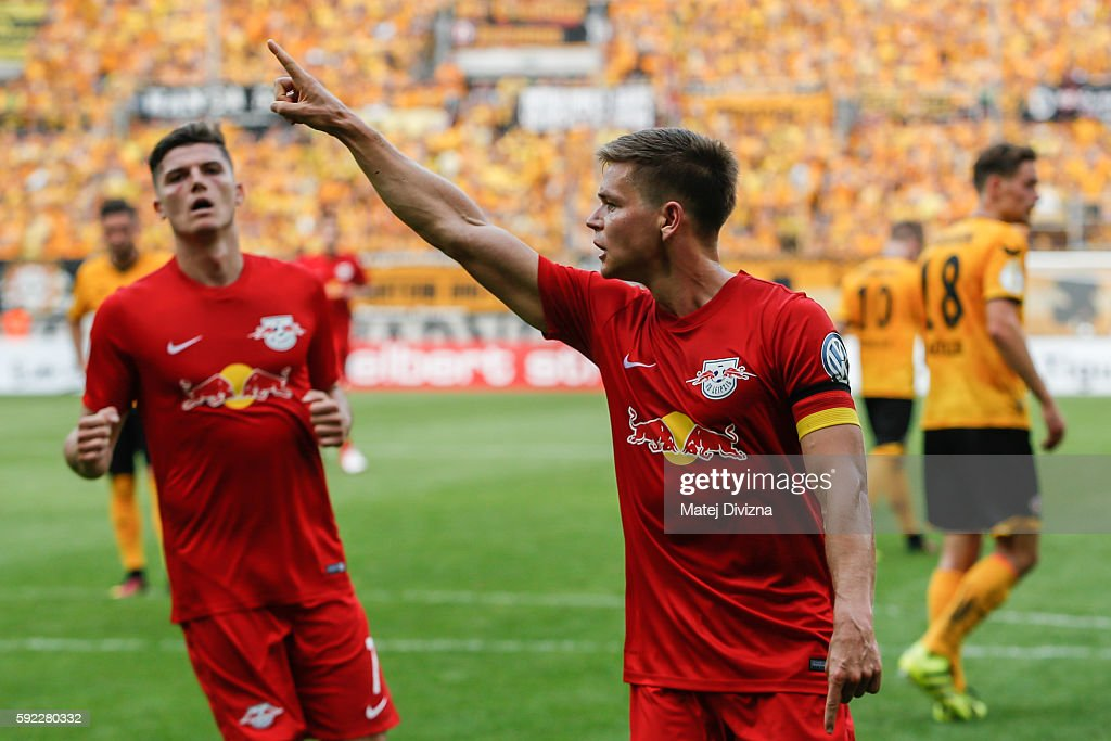 Dynamo Dresden v RB Leipzig - DFB Cup : News Photo