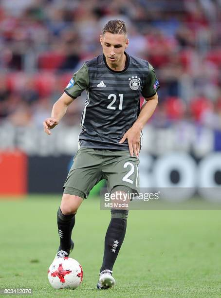 Dominik Kohr during the UEFA European Under21 match between England and Germany at Arena Tychy on June 27 2017 in Tychy Poland