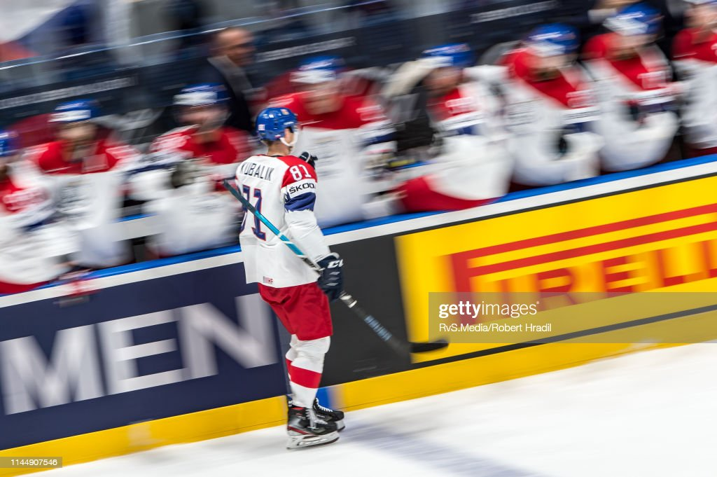 SVK: Austria v Czech Republic: Group B - 2019 IIHF Ice Hockey World Championship Slovakia