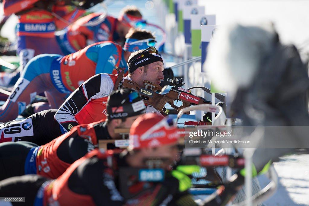 BMW IBU World Cup Biathlon Pokljuka - 12.5 km Men's Pursuit : Nachrichtenfoto