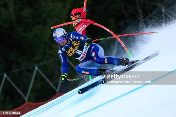 Dominik Paris of Italy competes during the Audi FIS Alpine Ski World Cup Men's Alpine Combined on December 29 2019 in Bormio Italy