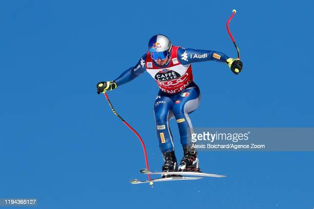 Dominik Paris of Italy competes during the Audi FIS Alpine Ski World Cup Men's Downhill on January 18 2020 in Wengen Switzerland