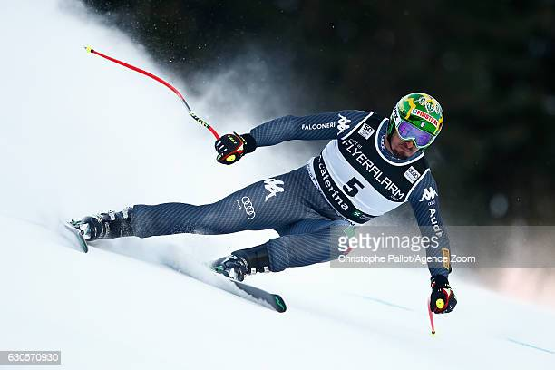 Dominik Paris of Italy competes during the Audi FIS Alpine Ski World Cup Men's Super Giant on December 27, 2016 in Santa Caterina, Italy