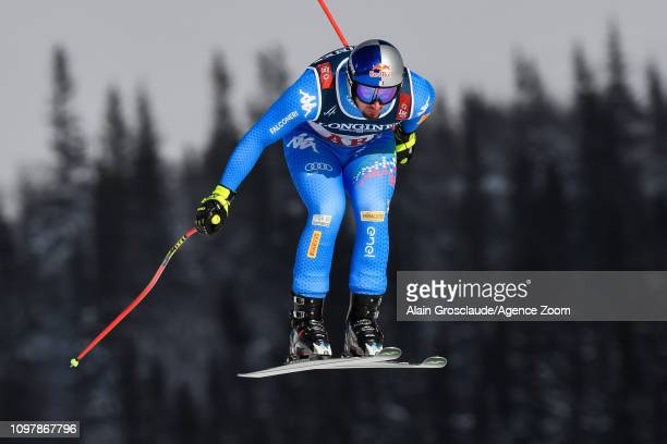 Dominik Paris of Italy competes during the FIS World Ski Championships Men's Alpine Combined on February 11 2019 in Are Sweden