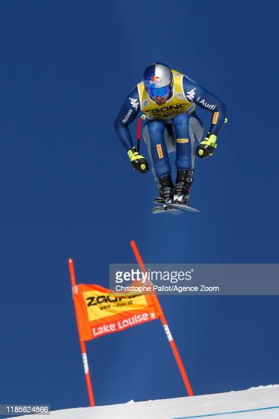Dominik Paris of Italy in action during the Audi FIS Alpine Ski World Cup Men's Downhill on November 30 2019 in Lake Louise Canada