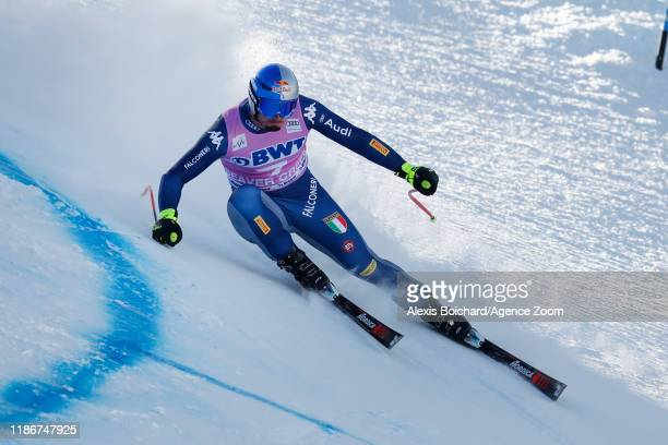Dominik Paris of Italy in action during the Audi FIS Alpine Ski World Cup Men's Super G on December 6 2019 in Beaver Creek USA