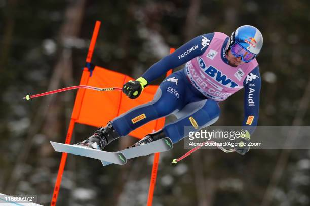 Dominik Paris of Italy in action during the Audi FIS Alpine Ski World Cup Men's Downhill on December 7 2019 in Beaver Creek USA