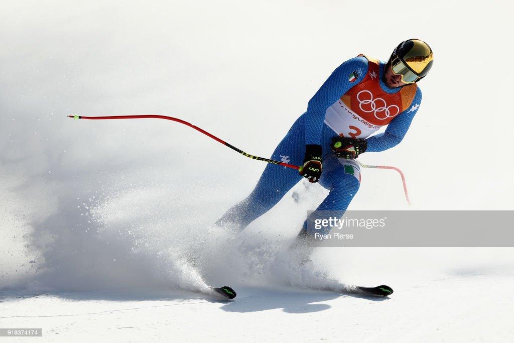 Alpine Skiing: Men's Downhill - Winter Olympics Day 6