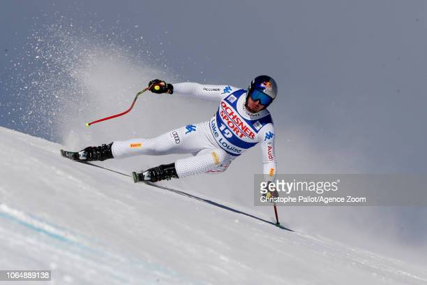 Dominik Paris of Italy takes 3rd place during the Audi FIS Alpine Ski World Cup Men's Downhill on November 24 2018 in Lake Louise Canada