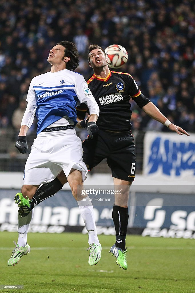 Markisen Darmstadt sv darmstadt 98 v karlsruher sc 2 bundesliga photos and images