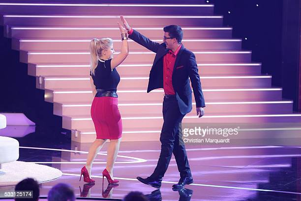 Dominik Zemp and Nico Studer 'Domenico' performs on stage during the taping of the tv show 'Beatrice Egli Die grosse Show der Traeume' on May 20 2016...
