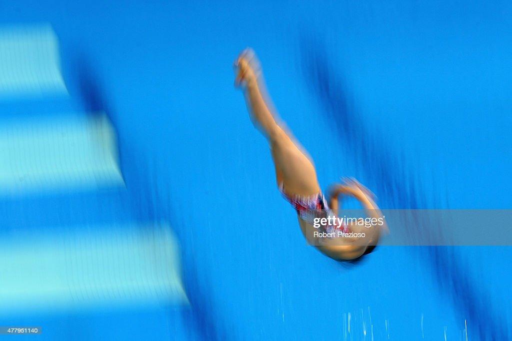 Diving - Day 9: Baku 2015 - 1st European Games : News Photo