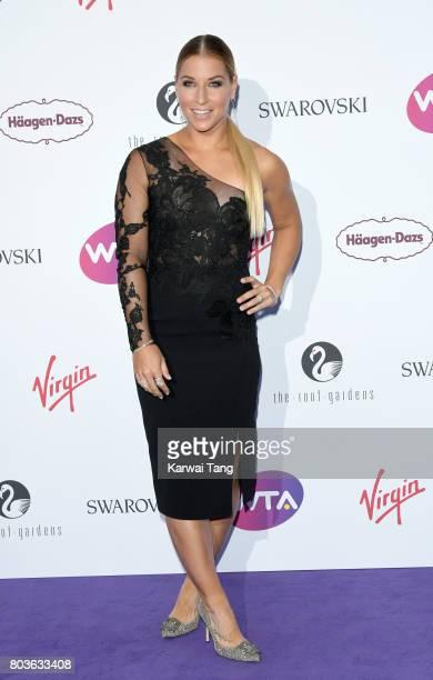 Dominika Cibulkova attends the WTA PreWimbledon party at Kensington Roof Gardens on June 29 2017 in London England