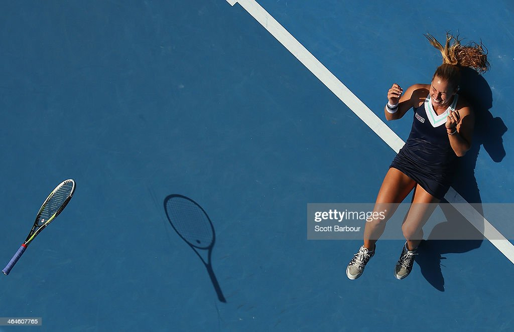 2014 Australian Open - Day 11 : News Photo