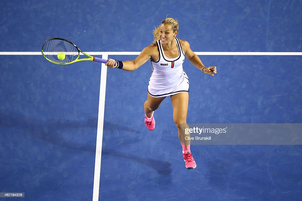 2015 Australian Open - Day 8 : News Photo