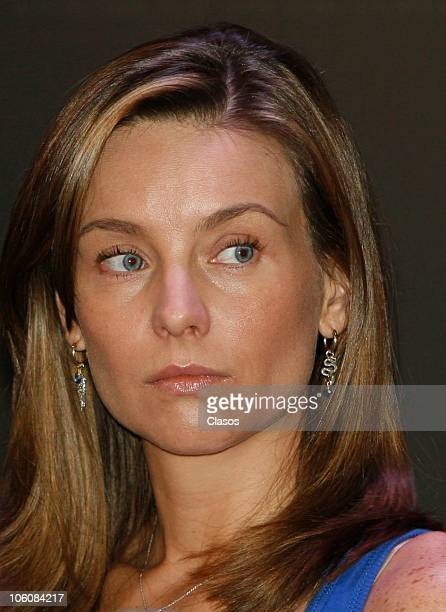 Dominika Paleta of the movie La Otra Familia, during a press conference as part of the 8th Morelia International Film Festival on October 23, 2010 in...