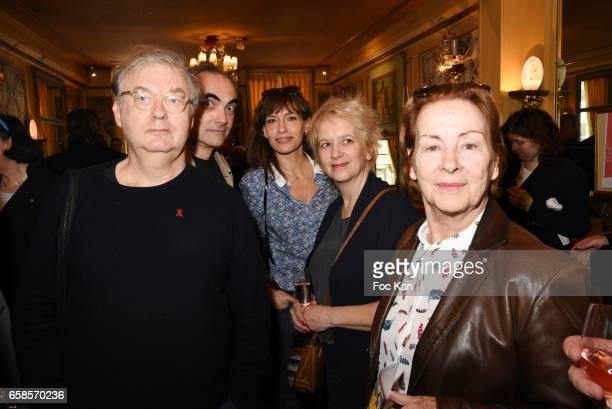 Dominique Besnehard, Thomas Chabrol, Julie Debazac, Cecile Maistre Chabroland Aurore Chabrol attend 'Journees du Livre et du Vin 2017' Jury...