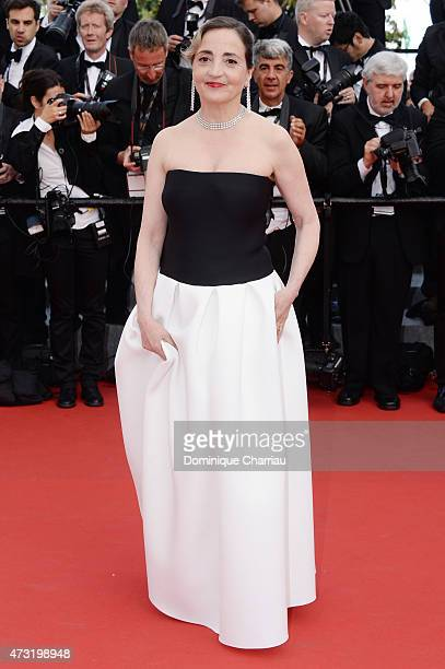Dominique Blanc attends the opening ceremony and premiere of 'La Tete Haute during the 68th annual Cannes Film Festival on May 13 2015 in Cannes...