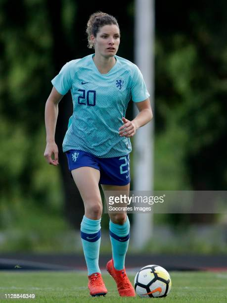Dominique Bloodworth of Holland Women during the Algarve Cup Women match between China PR v Holland at the Estadio Municipal de Albufeira on March 6,...