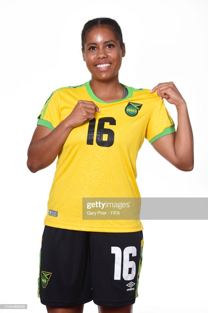 Dominique Bond-Flasza of Jamaica poses for a portrait during the ...