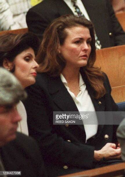 Dominique Brown , the sister of murder victim Nicole Simpson, listens during an early morning court session where Judge Lance Ito gave jury...