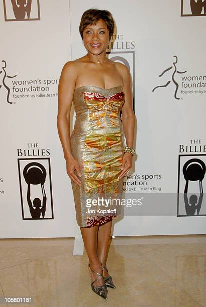 Dominique Dawes during 1st Annual The Billies Awards Arrivals at Beverly Hilton Hotel in Beverly Hills California United States