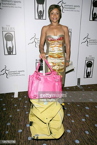 Dominique Dawes during 1st Annual The Billies Awards honoring women in sports featuring gift bags by Klein Creative Communications at Beverly Hilton...