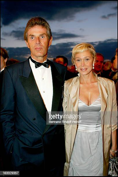 Dominique Desseigne and Alexandra Lorska at The Grand Bal De Deauville Held At Casino De Deauville In Aid Of Care International