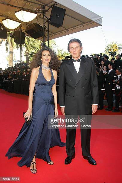 Dominique Desseigne and his wife arrive at the premiere of 'Zodiac' during the 60th Cannes Film Festival